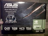Asus NVIDIA GeForce GT730 Graphics Card - Never been used