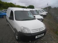CITROEN BERLINGO 1.6HDi 750Kg First [SLD] WILL COME WITH FULL YEARS MOT (white) 2011