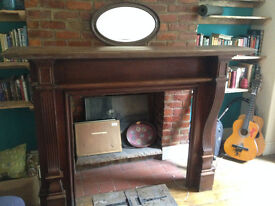 Original Hard wood fire surround (offers accepted)