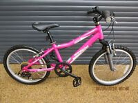 CHILDS MONGOOSE LIGHTWEIGHT ALUMINIUM BIKE IN ALMOST NEW CONDITION.. (SUIT APPROX. AGE. 6 / 7+)..
