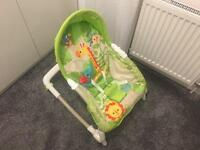 Fisher price rainforest and friends bouncer