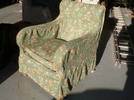 Small chair suitable lounge or bedroom