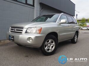 2001 Toyota Highlander Excellent Condition! Priced to Move!