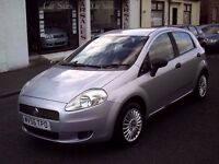 2006 56 FIAT GRANDE PUNTO 1.2 ACTIVE 5DR ** 79166 MILES ** MOT FEB 2017 ** TRADE IN TO CLEAR **