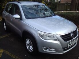 vw tiguan 2.0 tdi s 140 4motion dsg auto, 1 lady owner