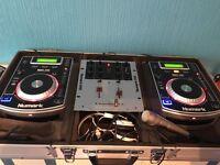 CD DJ DECKS FULL PACKAGE