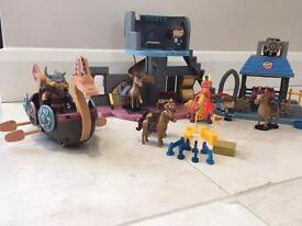 Mike The Knight play set