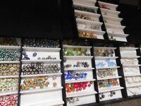 Four boxes of Pandora Beads