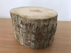 10 wooden logs £2