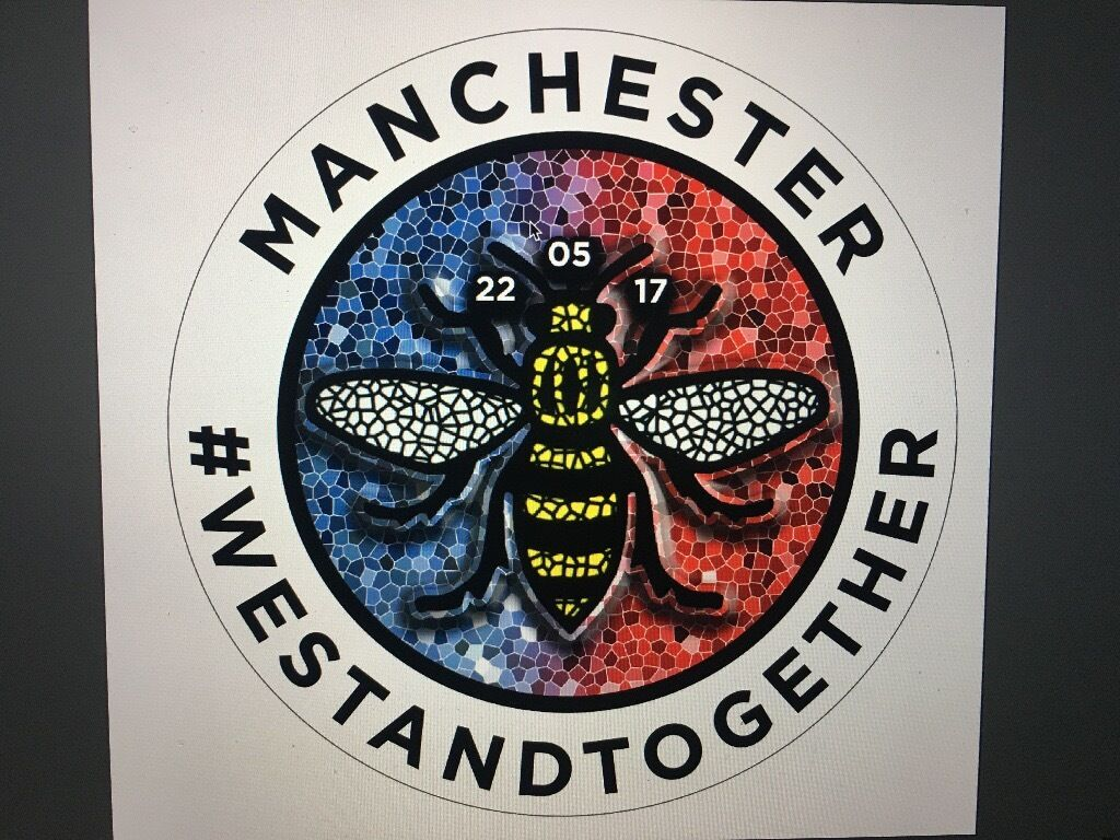 Manchester Bee Stickers | in Royton, Manchester