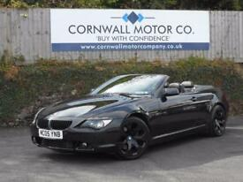 BMW 6 SERIES 4.4 645CI 2d AUTO 329 BHP JUST MOT'D AND SERVICED (black) 2005