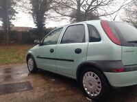 Vauxhall corsa 1.4 comfort