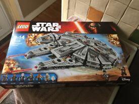LEGO STARS WARS 75105 MILLENNIUM FALCON