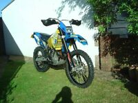 HUSABERG FE 450 - E 2009 ENDURO / GREEN LANE BUILT BY KTM