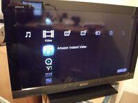 SONY 32 INCH SMART INTERNET TV FREE VIEW USB ETC REALLY NICE TV