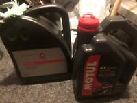 Free Coolant and oil