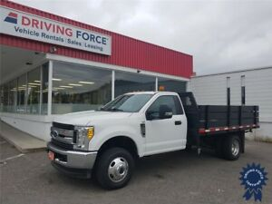 "2017 Ford F-350SD XLT Regular Cab 168"" WB 12' Flat Deck, 6.2L V8"