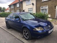 Vw Passat, 2002, mot 1 month, climate tronic, A/C, radio, great conditions, start driving,good turbo