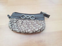 NY&Co Purse With Strap Brown and Beige