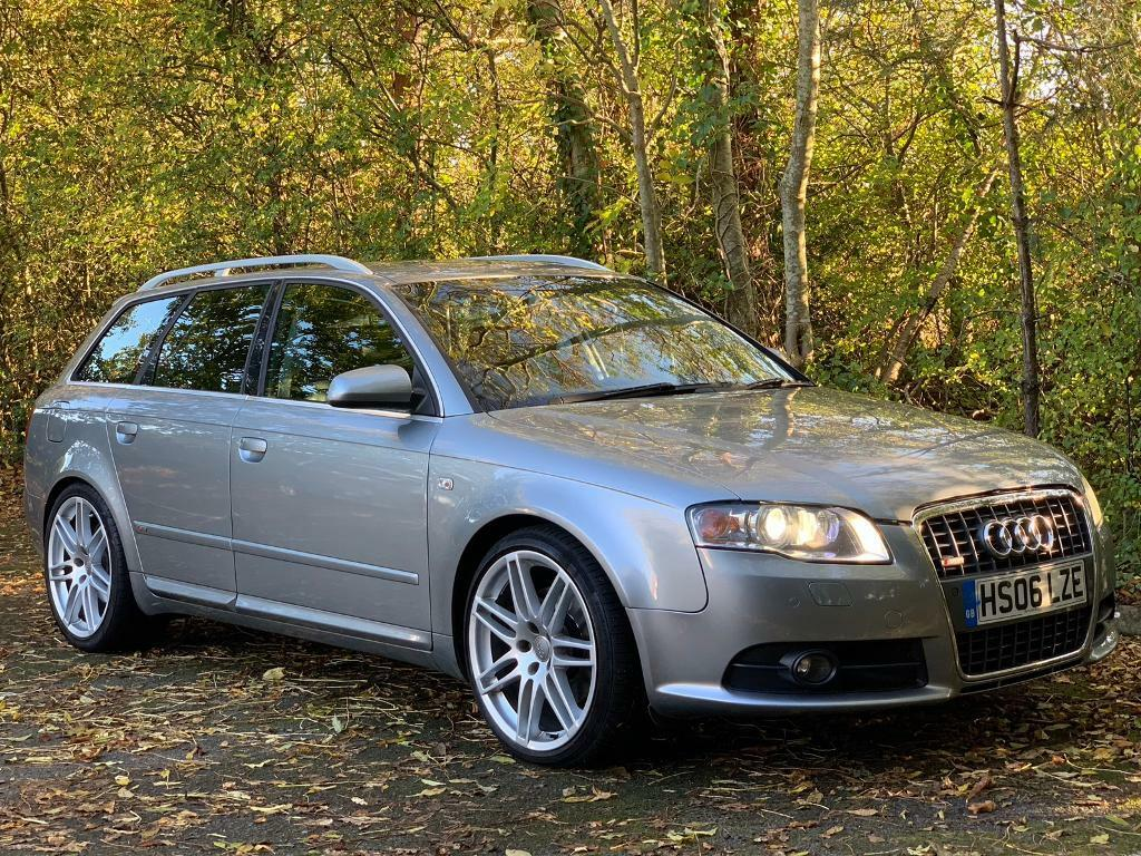 2006 audi a4 b7 3 0 tdi quattro s line grey auto estate. Black Bedroom Furniture Sets. Home Design Ideas