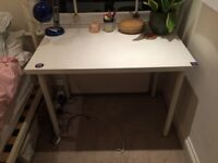 White Desk from Ikea