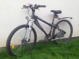 Boys/Girls Mountain-Bike MTB black