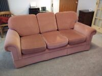 3 seater sofa X 2 for free