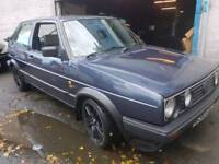 mk2 golf with 1.8t engine and parts not gti/VR6