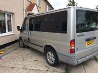 Ford transit minibus 9 seater