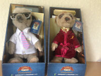 Compare the market meerkat toys Brand New Boxed with papers