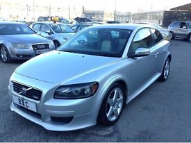 Volvo C30 1.6 D R-Design Sport 2dr £2,595 ONLY 1 PREVIOUS OWNER FROM NEW 2008 (58 reg), Coupe