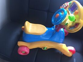 CAN DELIVER LIGHTS SOUNDS VTECH GO N GROW RIDE-ON CAR SCOOTER ROCKING HORSE STEERING WHEEL ACTIVITY