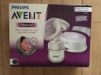 Brand new sealed Philips AVENT natural electric single breast pump