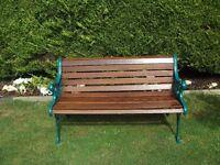 vintage garden seat bench