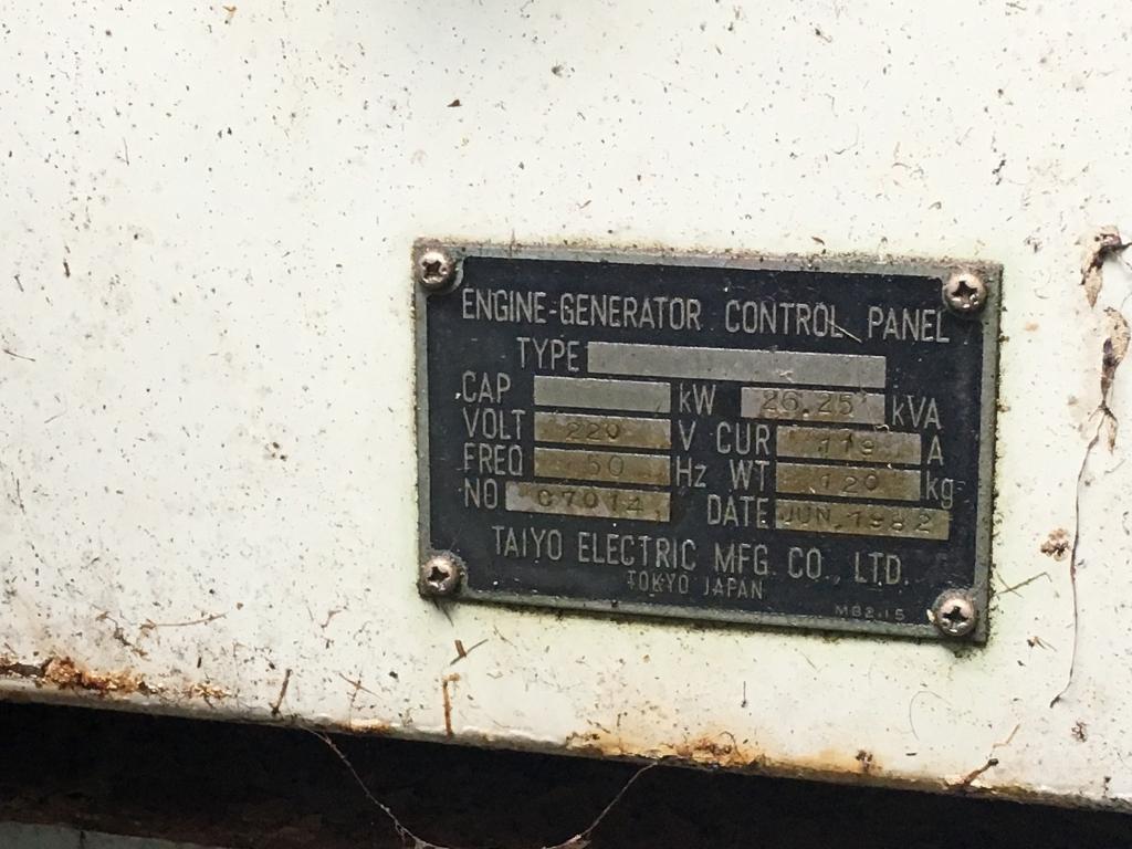 27kva diesel generator 3 phase