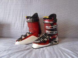 Solomon impact 8 ski boots Energizer 90 size 28.5 uk size 9.5 327mm