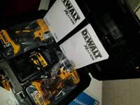 Brand New DeWalt DCK266P2T Brushless Drill 18v and impact driver 5.0ah x2 batteries and charger