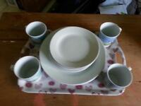 Plates & Mugs & Tray