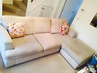 DFS 'Freya' Sofa & Armchair £450