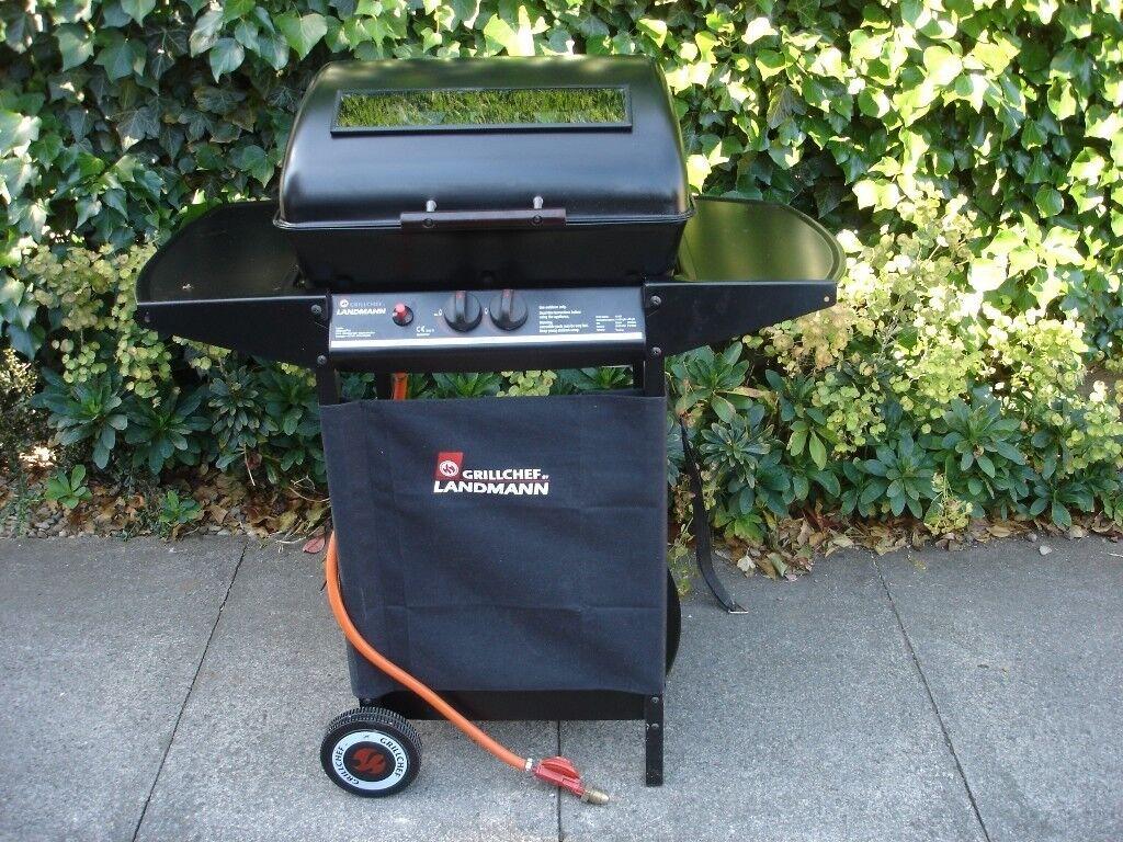 landmann grill chef twin burner gas bbq. | in bedale, north