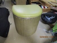 Vintage Lloyd Loom Lusty laundry basket