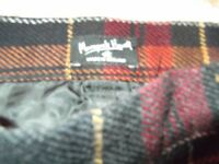 Vintage Margaret Howell wool check trousers size 6/8
