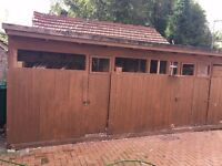 Large pigeon shed for sale holds 150 Pigeons 587x210X230