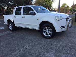 2010 Great Wall V240 Dual CAB Manual Big Tray Tow Bar LONG REGO . Sutherland Sutherland Area Preview