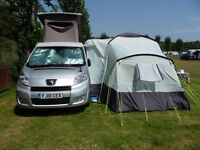 Campervan awning for sale.