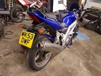 2003 sv650 long mot plus other bikes for sale in add aswell
