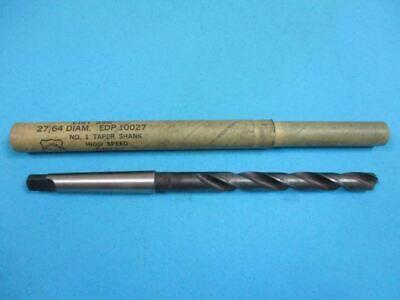 2764 1 Morse Taper High Speed Drill Bit U.s.a. New