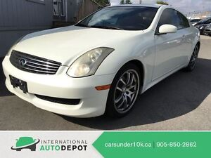 2007 Infiniti G35 COUPE / ACCIDENT FREE / LEATHER