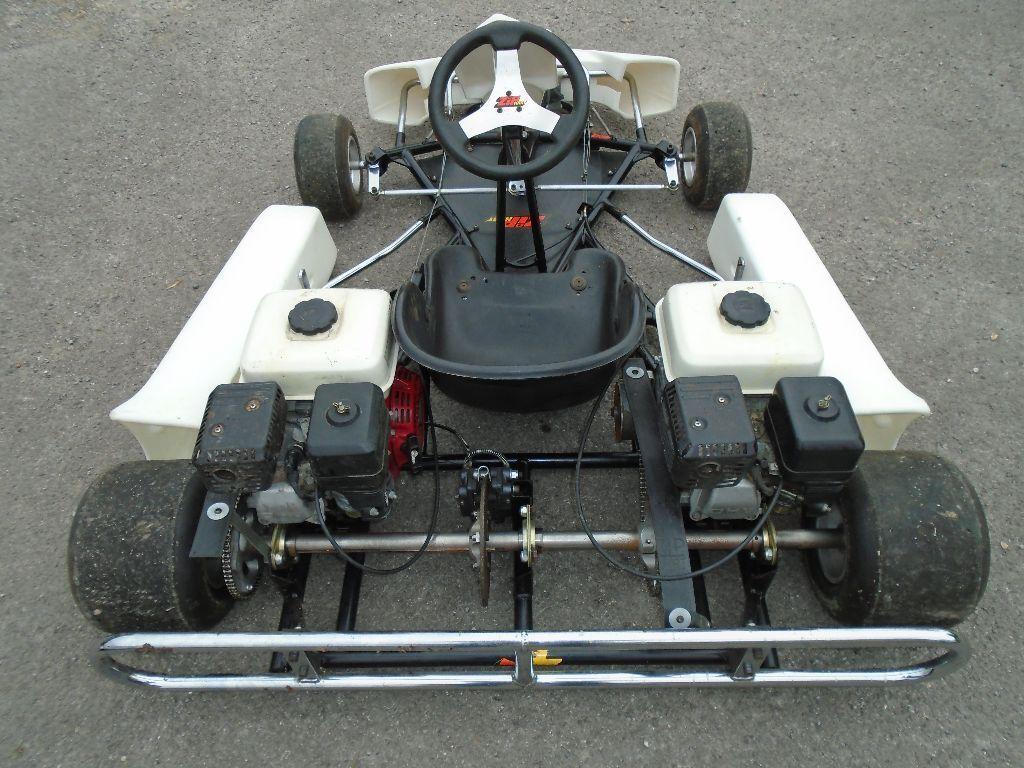 Honda Twin Engine Pro Kart Gx160 Go Cart Track Day 4