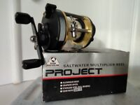 Ryobi Masterline Project 300L Saltwater Multiplier Reel as new condition